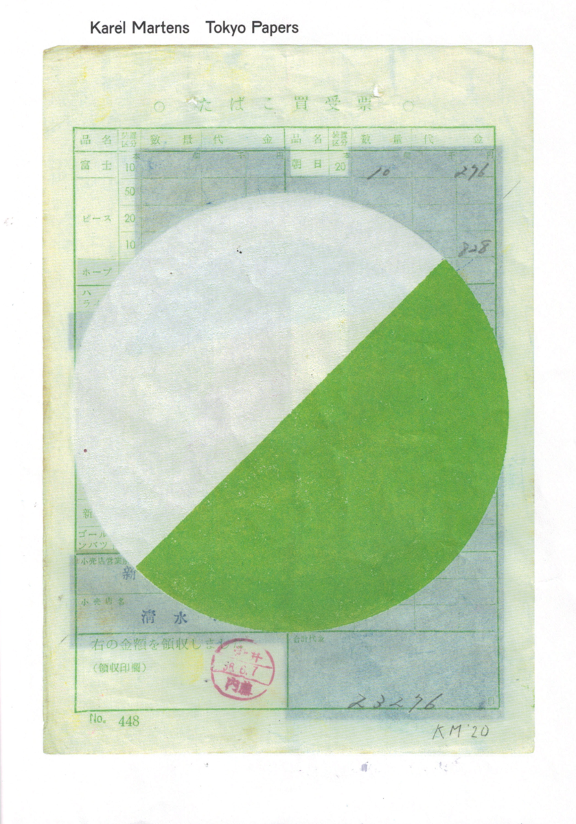 Karel Martens, Tokyo Papers