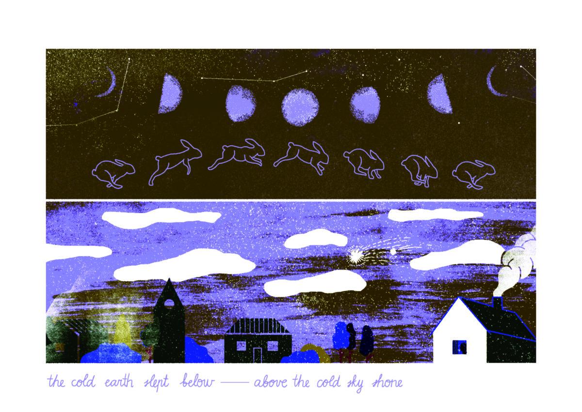 Masha Fee, Lot de trois cartes postales