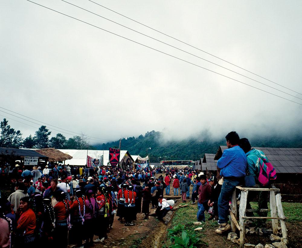 Bruno Serralongue, Encuentro Chiapas 1996