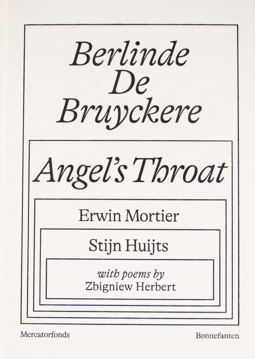 Berlinde De Bruyckere, Angel's Throat