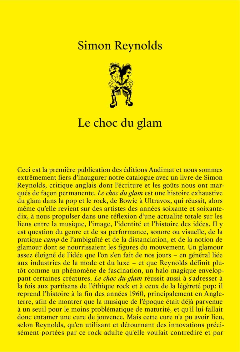 Simon Reynolds, Le choc du glam