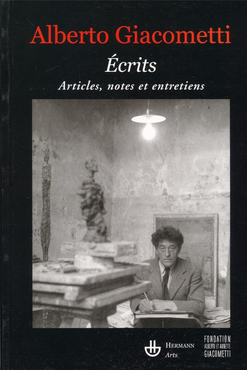 Alberto Giacometti, Ecrits