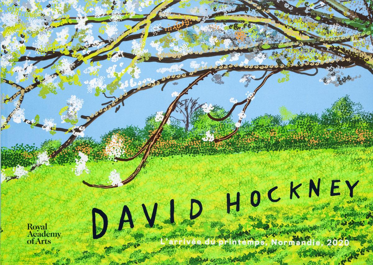 David Hockney, David Hockney : l'arrivée du printemps, Normandie, 2020