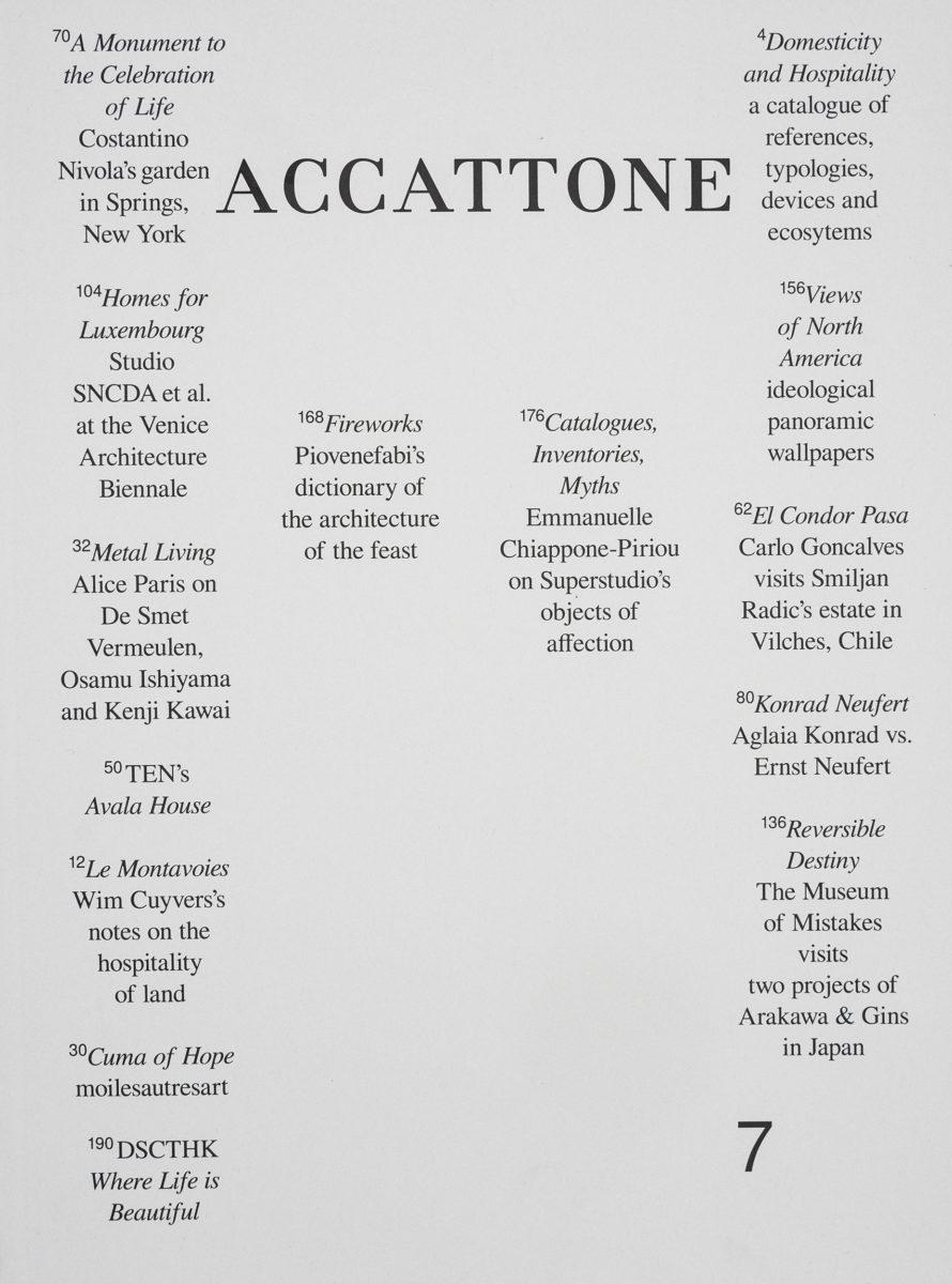 , Accattone #7