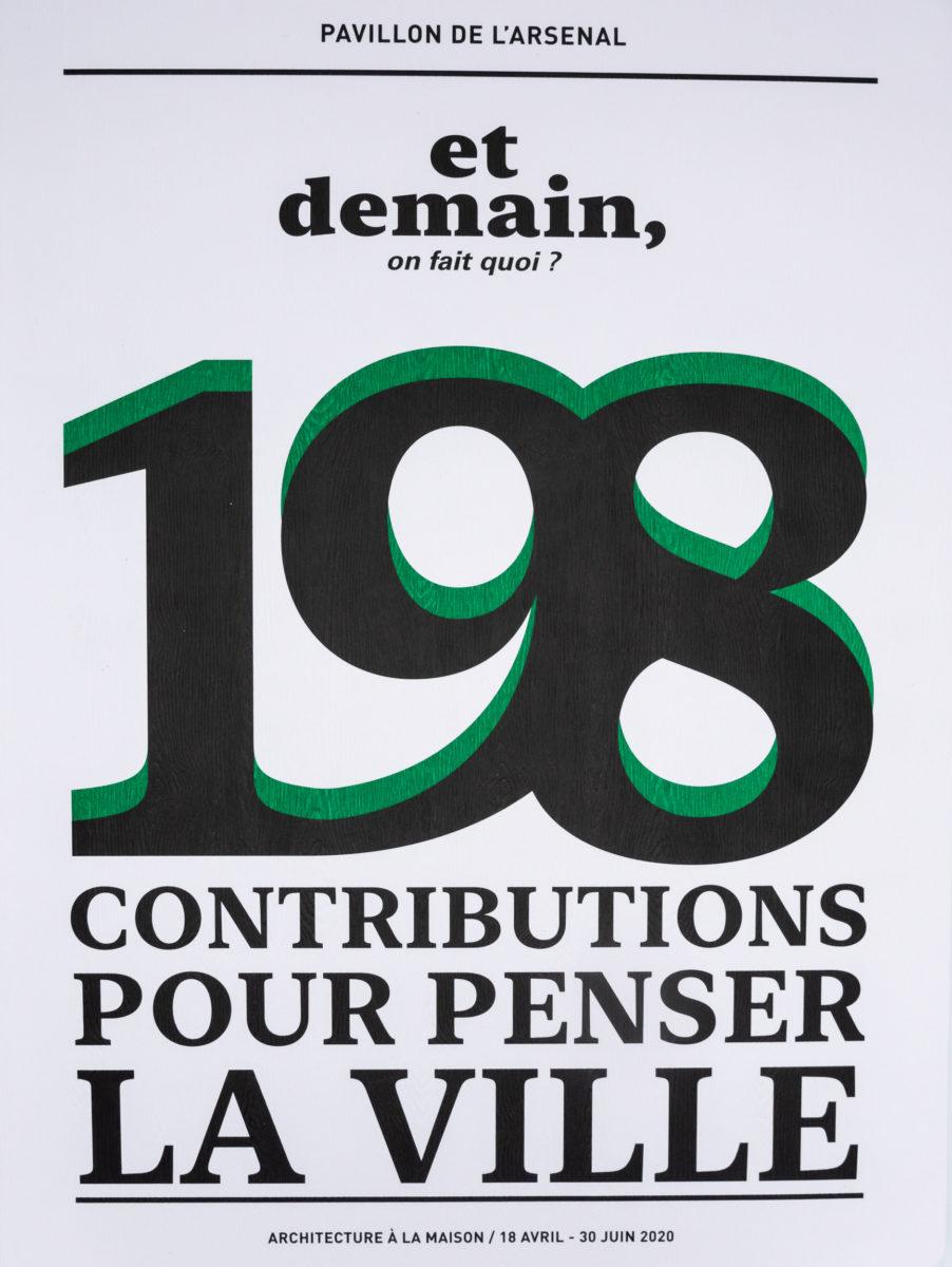, Et demain, on fait quoi ? 198 contributions pour penser la ville