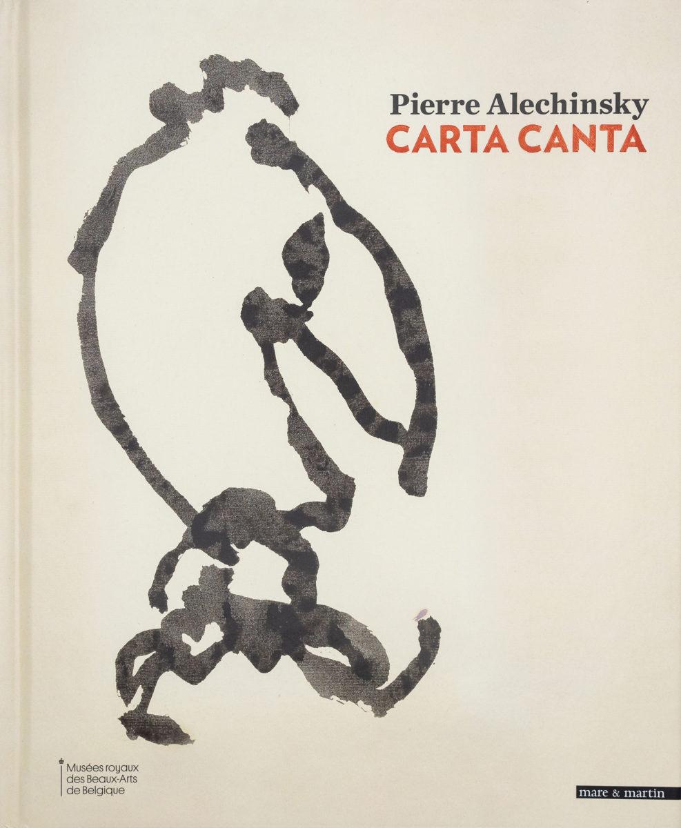 Pierre Alechinsky, Carta Canta
