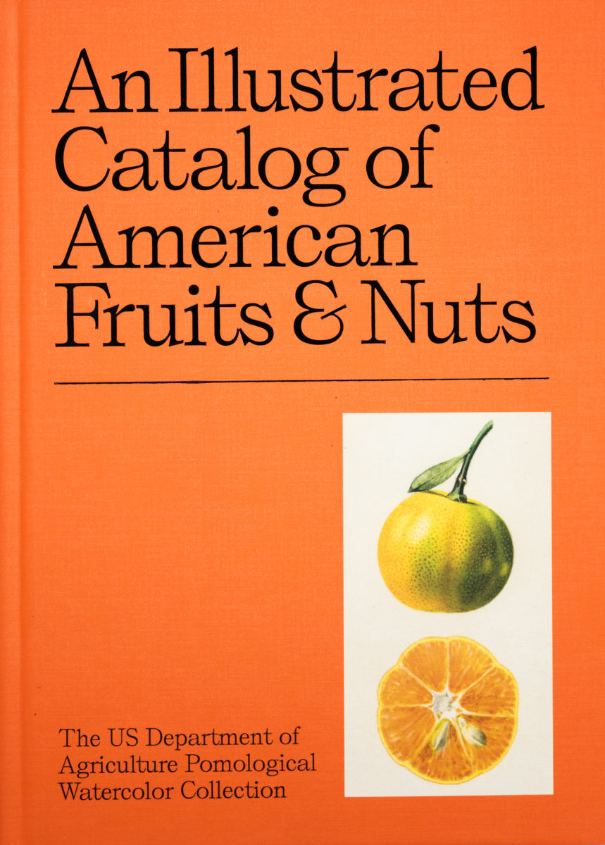 USDA, ministère américain de l'agriculture, An illustrated catalog of american fruits & nuts