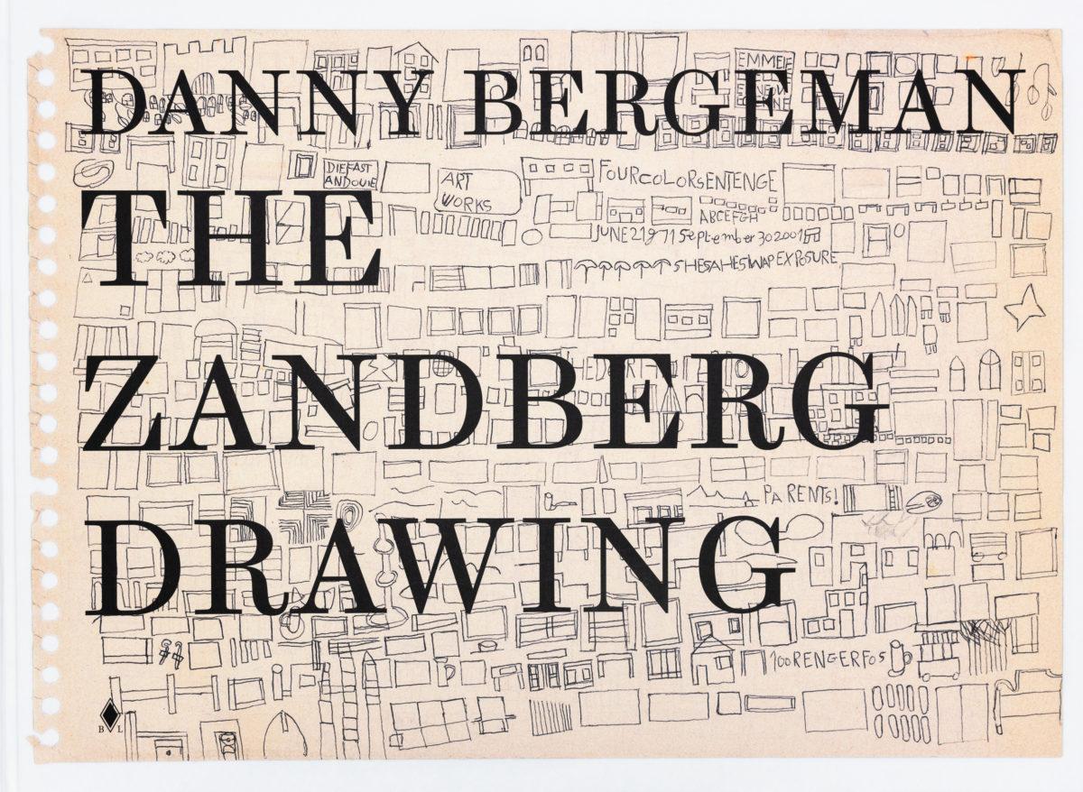 Danny Bergeman, The Zandberg Drawing