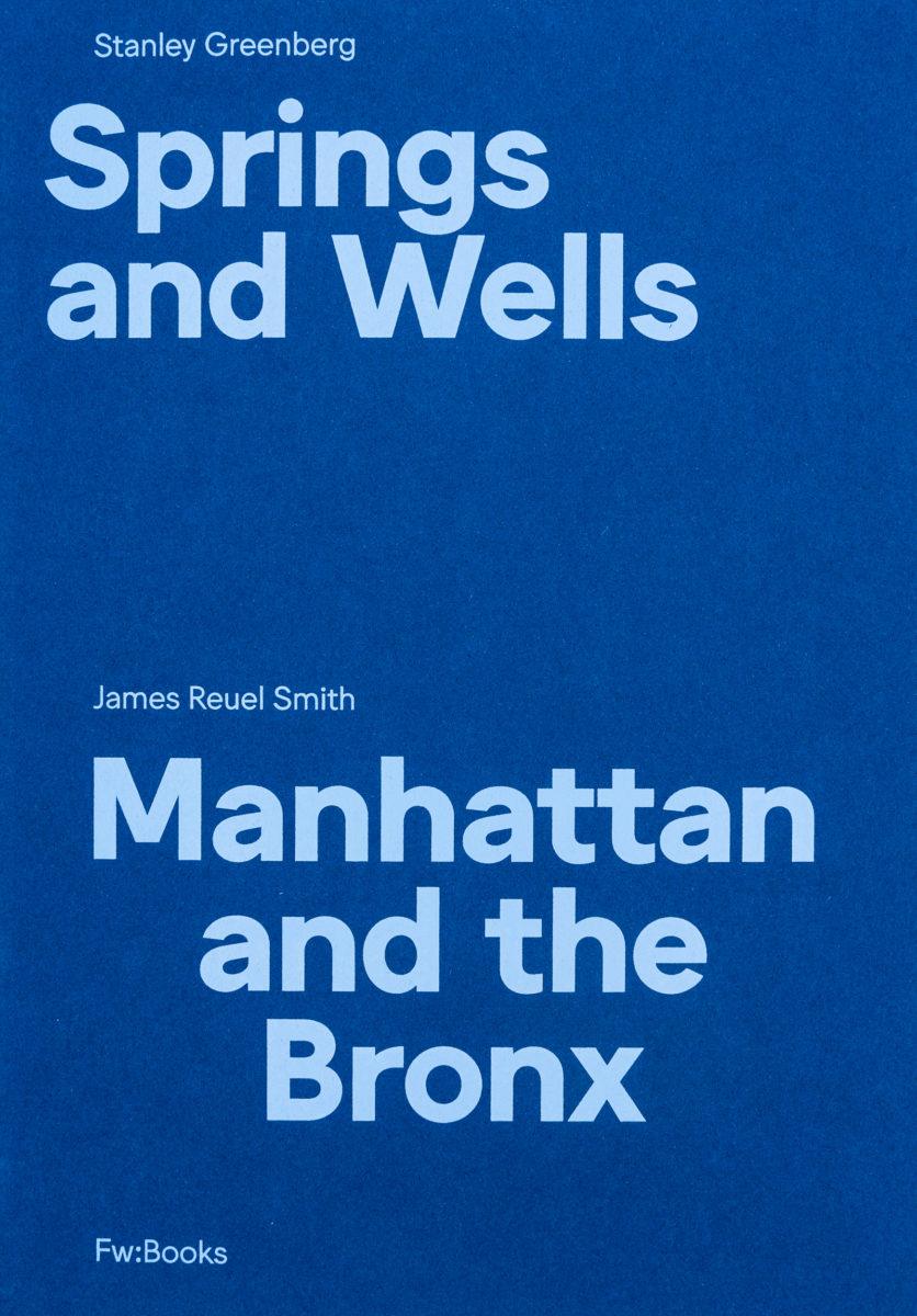 James Reuel Smith, Springs And Wells : Manhattan And The Bronx