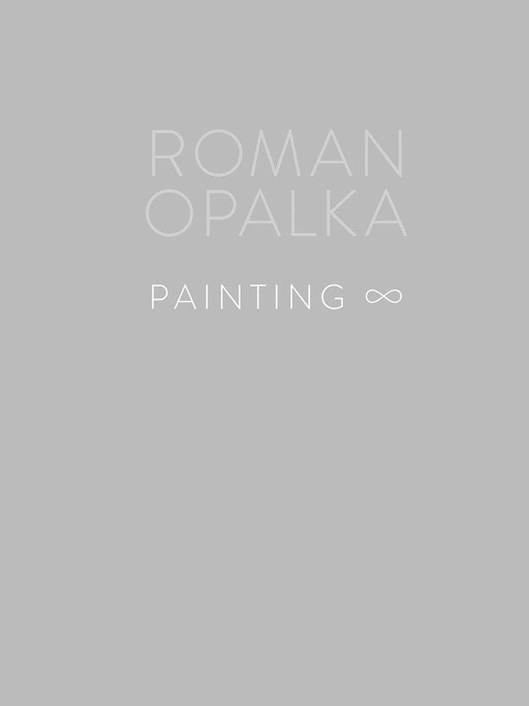 Roman Opalka, Painting