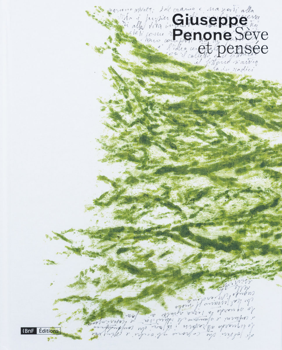 Giuseppe Penone, Sève et pensée