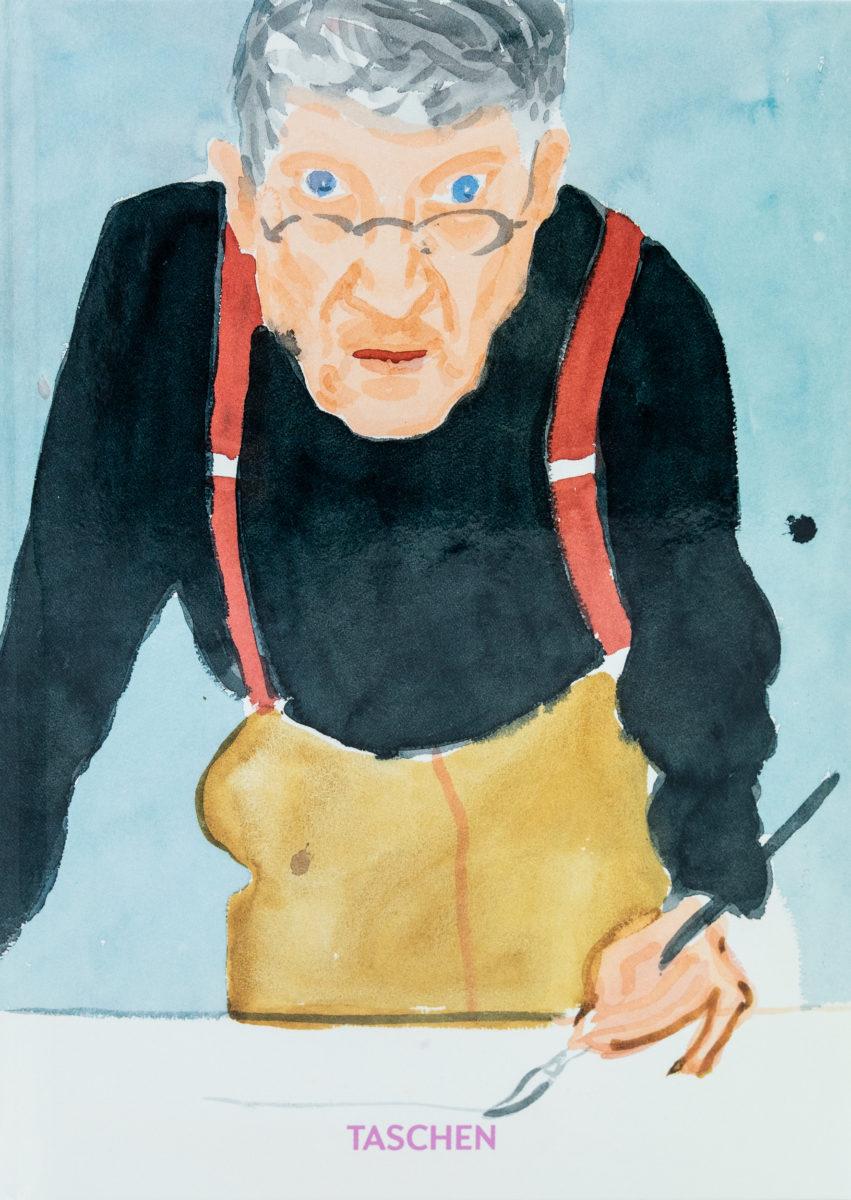 Hans Werner Holzwarth, David Hockney  : une chronologie