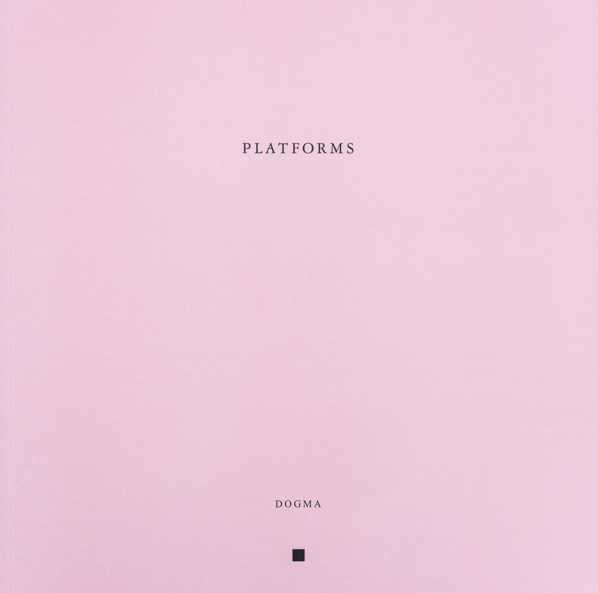 Jørn Utzon, Platforms, Architecture and the Use of the Ground
